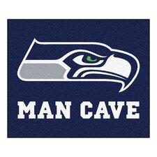 NFL Seattle Seahawks Man Cave Ulti-Mat Outdoor Area Rug