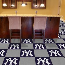 "MLB Team 18"" x 18"" Carpet Tile (Set of 10)"