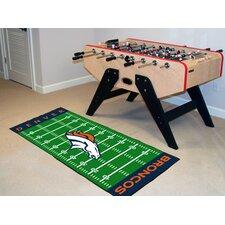 NFL Denver Broncos Footrun Doormat