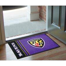 NFL Baltimore Ravens - Uniform Inspired Starter Doormat