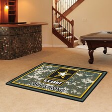 US Armed Forces US Army Area Rug