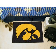 Collegiate Iowa Starter Area Rug