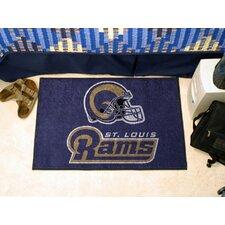 NFL St. Louis Rams Starter Doormat