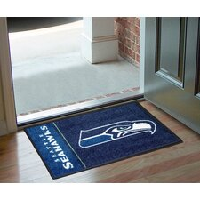 NFL Seattle Seahawks Uniform Inspired Starter Doormat