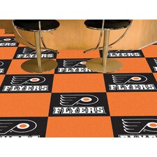 "NHL Team 18"" x 18"" Carpet Tile"