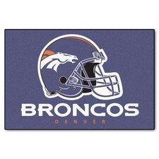 NFL Denver Broncos Starter Doormat