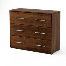 York 3 Drawer Dresser