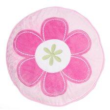 Mariposa Round Flower Throw Pillow