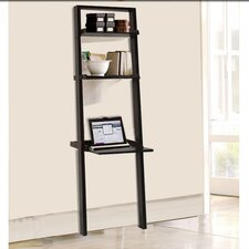 """Wall 67.88"""" Leaning Bookcase"""