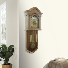 Full Grandfather Wall Hanging Clock