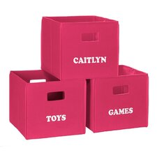Personalized Toy Storage Bin
