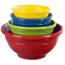 4 Piece Silicone Prep Bowl Set