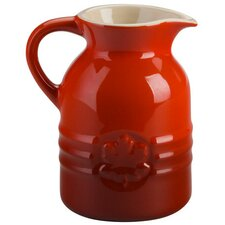 Stoneware Syrup Pitcher