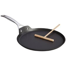 "Forged Hard-Anodized Non-Stick 11"" Crepe Pan"