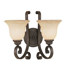 Oxford 2 Light Wall Sconce