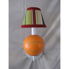 All Star Sports Basketball 1 Light Wall Sconce