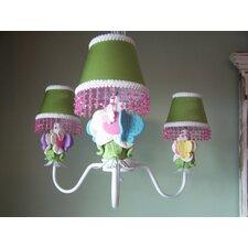 Butterfly Friends 3 Light Chandelier