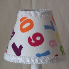 "5"" One, Two Buckle My Shoe Fabric Empire Candelabra Shade"
