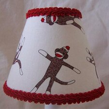 Sock Monkey Madness Table Lamp Shade