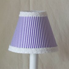 "5"" It's Good To Be Grape Fabric Empire Candelabra Shade"