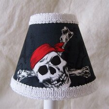 "5"" Pirate's Code Fabric Empire Candelabra Shade"