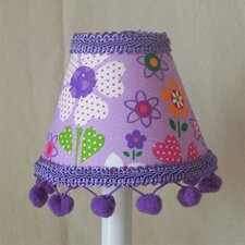 "5"" Spring Splendor Fabric Empire Candelabra Shade"