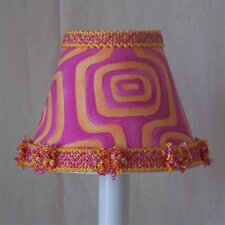 "5"" Explosion of Color Fabric Empire Candelabra Shade"
