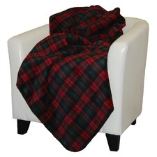 Classic Plaid Double-Sided Throw