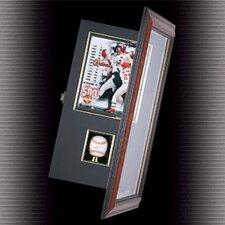 Coach's Choice Baseball and Photo Shadow Box Display