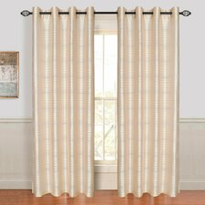 Maggie Grommet Single Curtain Panel
