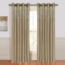 Karla Laser Cut Grommet Single Curtain Panel