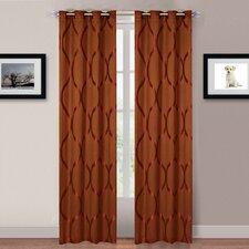 Metallic Grommet Curtain Panel (Set of 2)