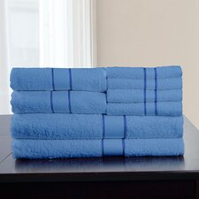 100% Egyptian Cotton 8 Piece Towel Set