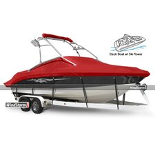 WindStorm Deck Boat Cover with Ski Tower