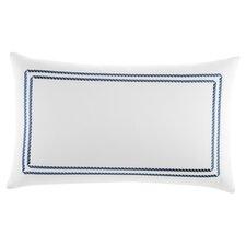Maritime Frame Embroidered Lumbar Pillow