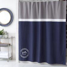 Starboard Cotton Shower Curtain
