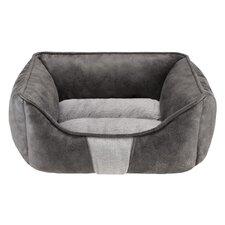 Jackson Rectangular Cuddler Bolster Dog Bed