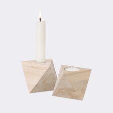 Ferm Living Maple Wood Candlestick