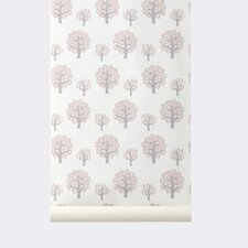 "Ferm Living Kids WallSmart Dotty 32.97' x 20.87"" Floral Wallpaper"