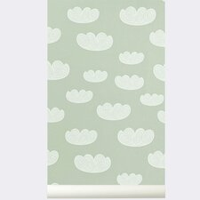 "Ferm Living Kids WallSmart Cloud 32.97' x 20.87"" Wallpaper"