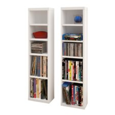 CD/DVD Multimedia Storage Rack (Set of 2)