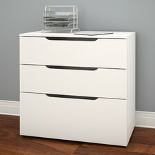 Arobas 3-Drawer Lateral File
