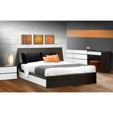 Allure Storage Sleigh Bed