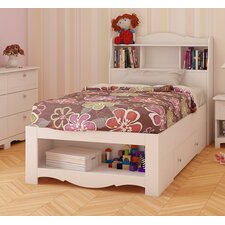 Dixie Storage Bed and Bookcase Headboard