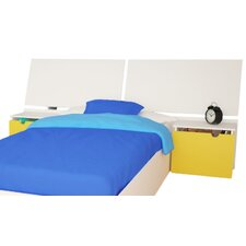 Taxi Panel Headboard with Nightstands
