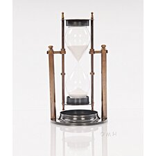 Decorative Brass Revolving Sandtimer