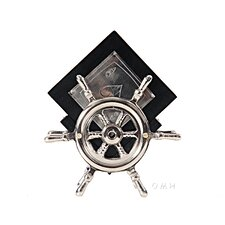 Coaster On Ship Wheel (Set of 6)