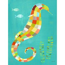 Under the Seahorse Canvas Art