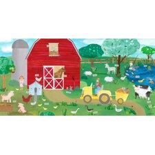 Farm Friends Canvas Art