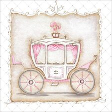 Little Princess Carriage III Canvas Art
